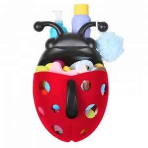 Boon Bug Pod Bath Toy Scoop - Red